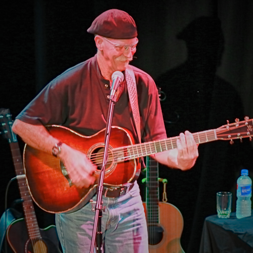 Image of Stu Forbes, musician, tutor, luthier, Australia