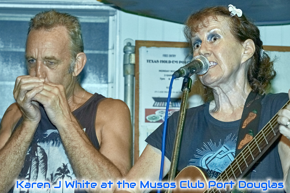 Image of Karen J White @ Port Douglas Musos Club - ref: Image #AX163626